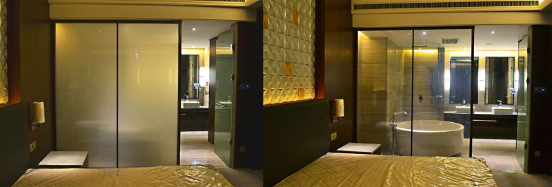 Privacy Glass Switchable Hotels